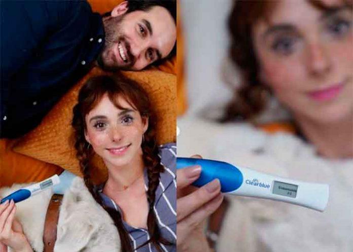 Natalia Téllez anuncia que está embarazada de su primer hijo