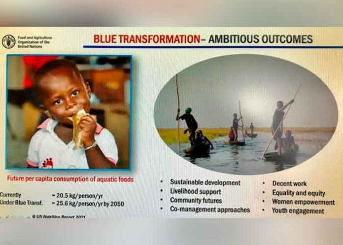 Nicaragua participó en el evento internacional transformación azul de sistema alimentarios acuáticos