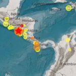 Enjambre sísmico continúa azotando el pacífico de Nicaragua
