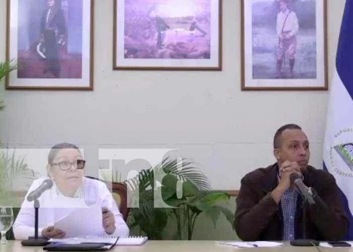 Foto: Reunión virtual sobre temas de política en Nicaragua y las elecciones / TN8
