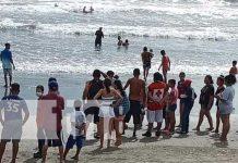 Playa donde encontraron cuerpo del niño en Chinandega