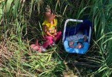 Rescatan a hermanos hondureños abandonados en frontera de EE.UU