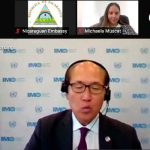 Nicaragua participó en el conversatorio sobre mujeres en el sector marítimo