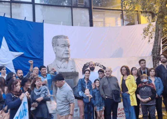 Rinden homenaje a presidente Salvador Allende