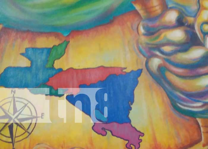 Elaboran enorme mural para narrar independencia de Centroamérica