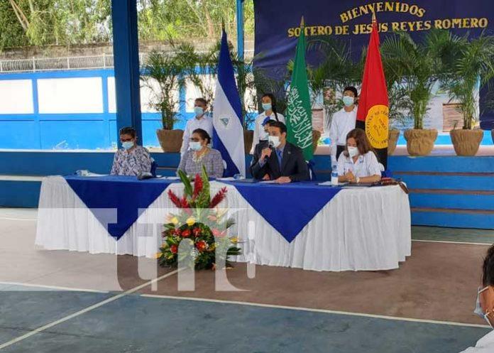 Donación de dátiles para la merienda escolar de Nicaragua