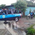 Policía Nacional de Matiguás recorre las calles en su 42 aniversario