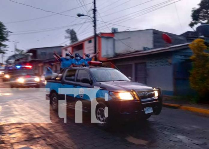 42 aniversario de fundación de la Policía Nacional