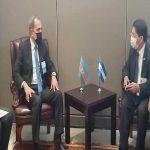 Delegación de Nicaragua se reúne con Presidente de Perú y cancilleres