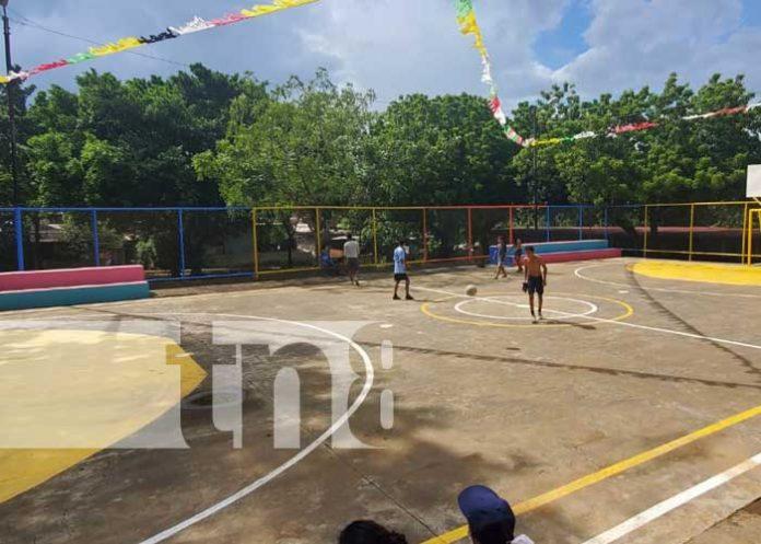 Nuevo lugar de recreación para familias en Lomas de San Judas, Managua