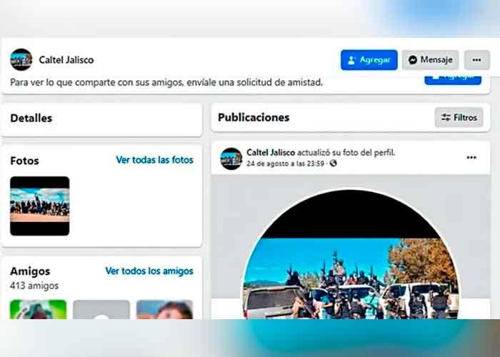 Cártel sanguinario usa Facebook e Instagram para reclutar sicarios