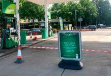 Cierran varias gasolineras en Reino Unido por escasez de combustible