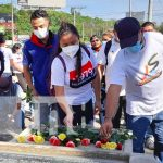 Homenaje al paso a la inmortalidad de Rigoberto López Pérez