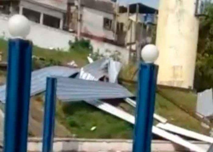 Río de Janeiro es afectado por fuertes vientos