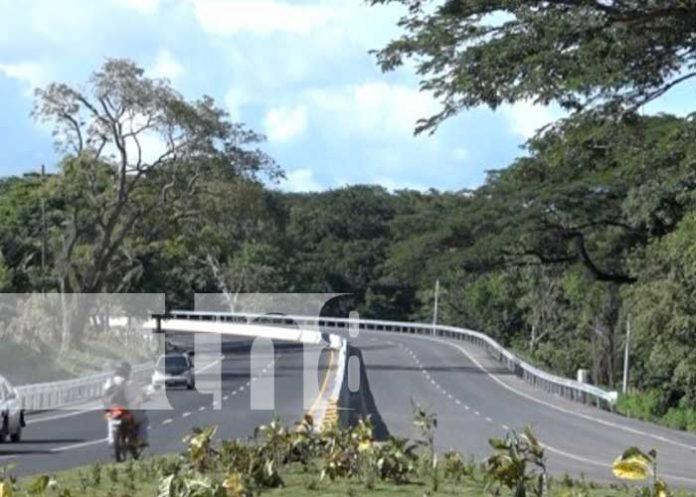 Construcción de nuevos tramos de carretera en Rivas