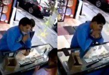 Hombre se traga 4 anillos para robárselos en México (VIDEO)