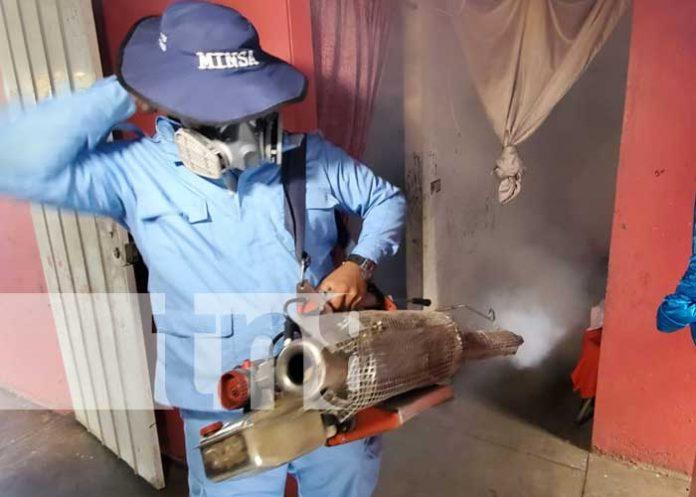 Jornada de salud con fumigación y abatización en el barrio Bóer