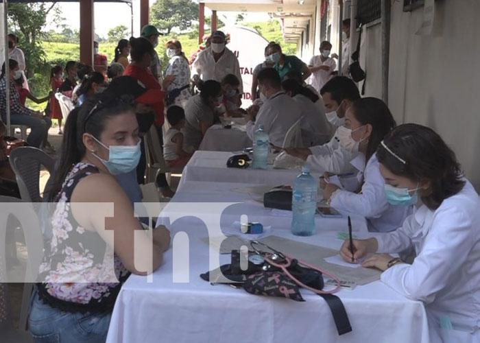 Feria de salud para las familias en Río Blanco, Matagalpa