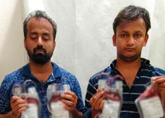 India: Capturan a médico y asistente que vendían sangre adulterada