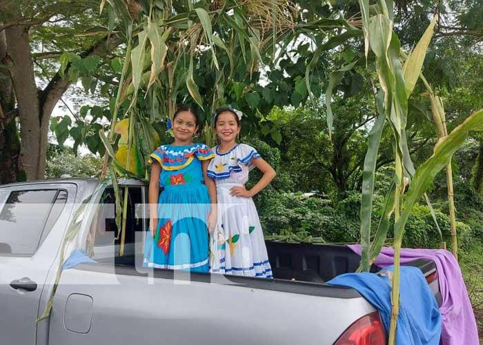 Celebran el carnaval del maíz en San Miguelito, Río San Juan