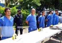 Captura de sujetos por delitos cometidos en Chinandega