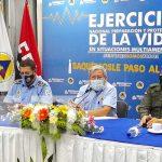Conferencia de prensa del SINAPRED sobre Tercer Ejercicio Multiamenazas