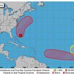 Meteorólogos vigilan desarrollo de tres sistemas en la cuenca atlántica