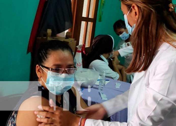 Segunda dosis de la vacuna