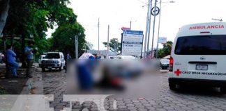 Taxista deja con fracturas a mensajero en Managua