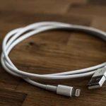 Un cable USB