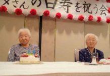 Gemelas japonesas con más de 107 años rompen el récord de longevidad