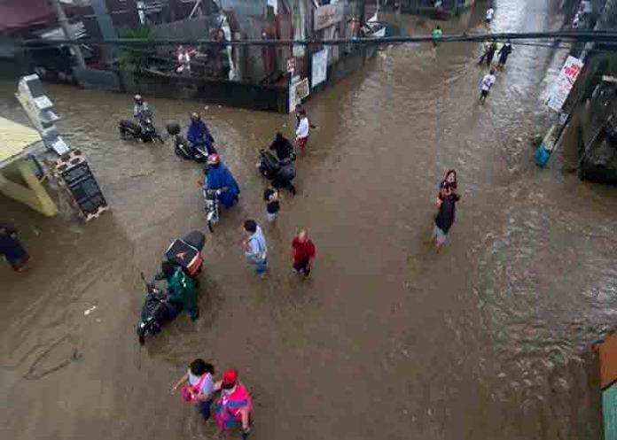 Corea del Sur sufre graves inundaciones por el tifón Chanthu
