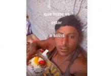 """Foto: Albañil que se hace llamar en la red social """"Draculín"""", quien compartió el video en Tik Tok."""