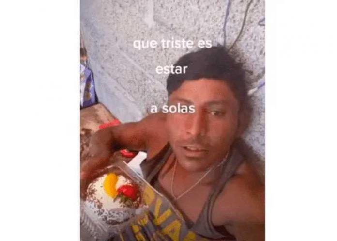 Foto: Albañil que se hace llamar en la red social