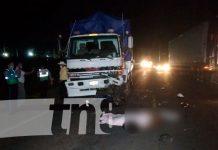 Accidente de tránsito en Tipitapa