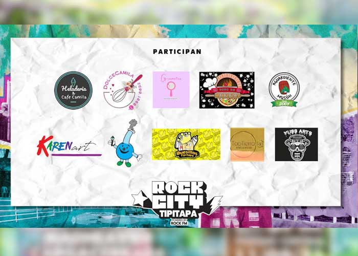 Promocional del evento Rock City Tipitapa