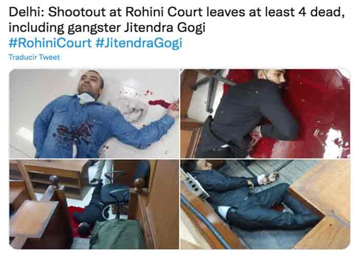 Falsos abogados asesinan al gángster Jitendra Gogi en un tribunal de India