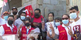 Gobierno entrega decenas de títulos en Ciudad Sandino