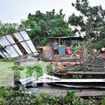 Tornado destruye viviendas en una comunidad de León