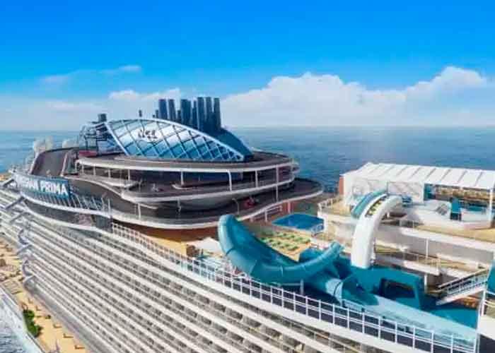 Foto: Conocé El Tobogán más Extravagante del Mundo | Créditos: Norwegian Cruise Line
