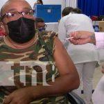 Jornada de aplicación de la vacuna contra el COVID-19 en Managua
