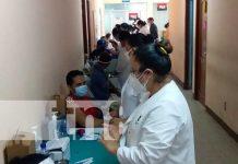 Jornada para aplicar la vacuna en hospitales de Managua