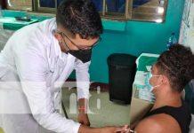 Vacuna para mayores de 30 años en Tipitapa, Managua