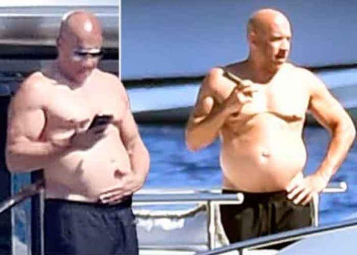 Vin Diesel demasiado