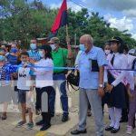 Inauguran proyecto de calles en barrio Bella Vista en Juigalpa