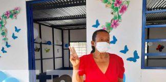 Nueva vivienda digna para no sufrir con la lluvia a una familia en Managua