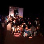 126 migrantes abandonados dentro de un contenedor en Escuintla, Guatemala