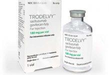 Trodelvy medicamento eficaz contra el cáncer de mama avanzado