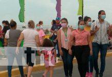 Realizan show de imitadores en el Puerto Salvador Allende