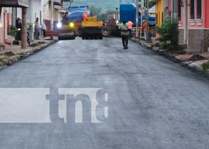 Calles para el pueblo para las familias